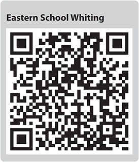 Eastern School Whiting QR code